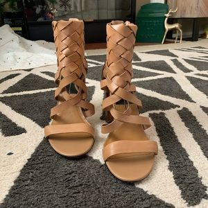 Dolce Vita nude sandals